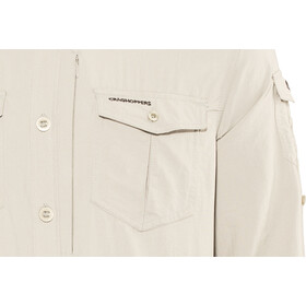 Craghoppers NosiLife Adventure II Camicia a maniche lunghe Uomo, beige